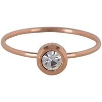 CHARMIN'S Charmins Ring STIL Rose Stahl Stahl