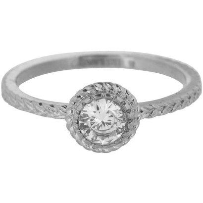 CHARMIN'S Charmins Shiny ICONIC Steel stalen stapelring R435 Silver van het fashion sieradenmerk Charmin's.