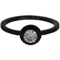 CHARMIN'S Charmins ring Shiny ICONIC Steel Black Steel