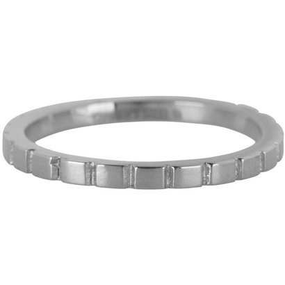 CHARMIN'S Charmins Shiny BASICALLY Steel stalen stapelring R439 Silver Steel van het fashion sieradenmerk Charmin's.