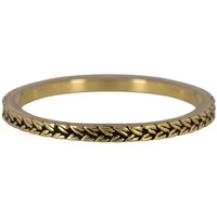 CHARMIN'S Charmins ring BRAIDS Steel Gold Steel