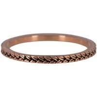 CHARMIN'S Charmins ring  BRAIDS Steel Rosegoud Staal