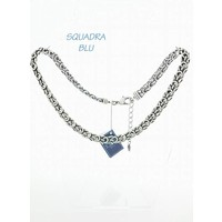SQUADRA BLU Dutch Design Jewelry SQUADRA BLU NECKLACE WITH FANTASY SWITCH