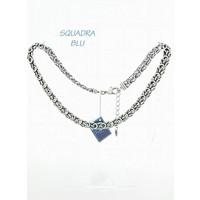 SQUADRA BLU Dutch Design Jewelry SQUADRA BLU NECKLACE WITH FANTASY SWITCH