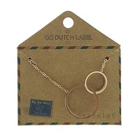 GO-DUTCH LABEL Go Dutch Label-Armband Sisters Rosegold-Farbe