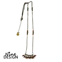 ND Necklace Bronze Folk