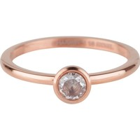 CHARMIN'S Charmin 'ring Shiny STYLISH Bright Steel Rosegold Steel