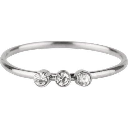 CHARMIN'S Charmins Shine Bright 3.0 Steel stalen stapelring R504 Silver van het fashion sieradenmerk Charmin's.