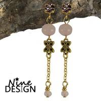 ND Diva Earrings Rose Gold