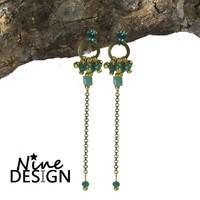 ND Earrings Evita Blue