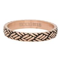 IXXXI JEWELRY RINGEN iXXXi Jewelry Vulring 0.4 cm LOVE KNOT  Rosegoud