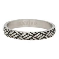 IXXXI JEWELRY RINGEN iXXXi Jewelry Vulring 0.4 cm LOVE KNOT  Zilverkleurig