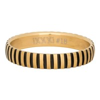 iXXXi JEWELRY iXXXi Jewelry Filling ring 0.4 cm PIANO GOLD