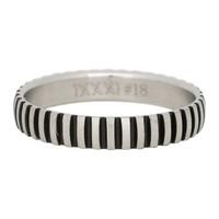 iXXXi JEWELRY iXXXi Jewelry Filling ring 0.4 cm PIANO SILVER