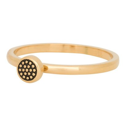 iXXXi JEWELRY iXXXi Jewelry Vulring 2mm PIN CUSION Gold Stainless steel