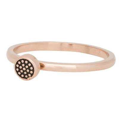 iXXXi JEWELRY iXXXi Jewelry Vulring 2mm PIN CUSION Rosegold Stainless steel