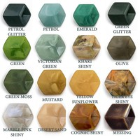 CUBE COLLECTION LOOSE CUBES BASE COLORS COLOR CHART 3