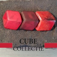 CUBE COLLECTION CUBES COMBINATION RED 001