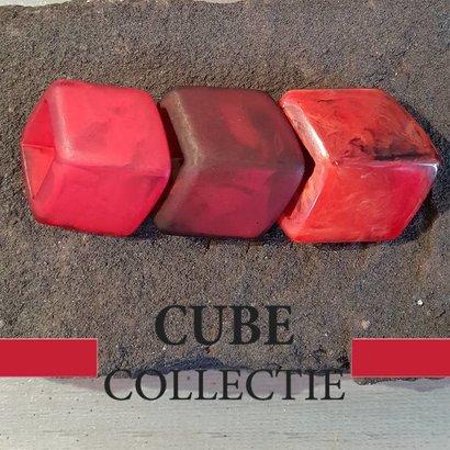 CUBE COLLECTION 3 CUBES COMBINATIE 001 De afmeting van 1 CUBE is 46x36mm.