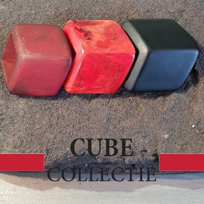 CUBE COLLECTION 3 CUBES COMBINATIE 002 De afmeting van 1 CUBE is 46x36mm.