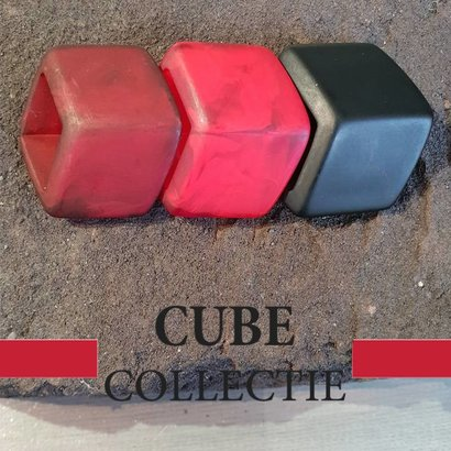 CUBE COLLECTION 3 CUBES COMBINATIE 003 De afmeting van 1 CUBE is 46x36mm.
