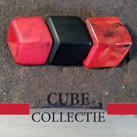 CUBE COLLECTION CUBES COMBINATION RED 004