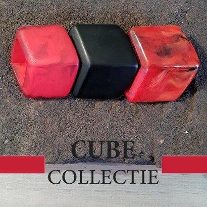 CUBE COLLECTION 3 CUBES COMBINATIE 004 De afmeting van 1 CUBE is 46x36mm.