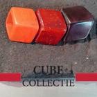 CUBE COLLECTION CUBES COMBINATIE BROWN ORANGE 100