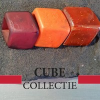 CUBE COLLECTION CUBES KOMBINATION ROT ORANGE 101