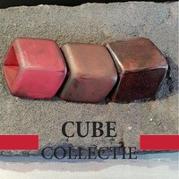 CUBE COLLECTION CUBES COMBINATIE BROWN 106