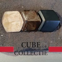 CUBE COLLECTION CUBES KOMBINATION GELB BROWN 108