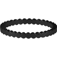 CHARMIN'S Charmins ring BASIC CROWN Steel BLACK