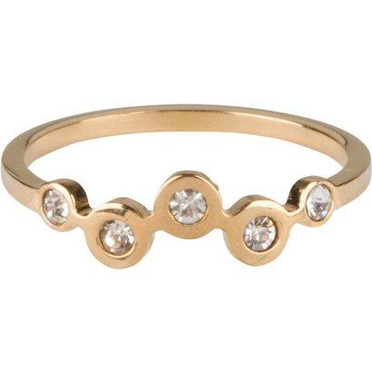 CHARMIN'S Charmins Bubbles Gold steel  R658  van het fashion sieradenmerk Charmin's.