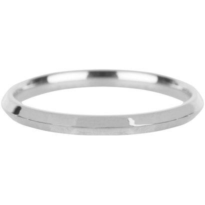 CHARMIN'S Charmins Basic Hooked Silver steel  R667  van het fashion sieradenmerk Charmin's.