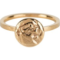 CHARMIN'S Charmins ring Coin of Power Steel Gold