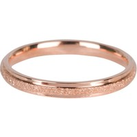 CHARMIN'S Charmins ring Sanded en Shiny Steel Rose