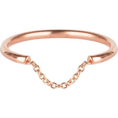CHARMIN'S Charmins Chained Rose steel  R574  van het fashion sieradenmerk Charmin's.
