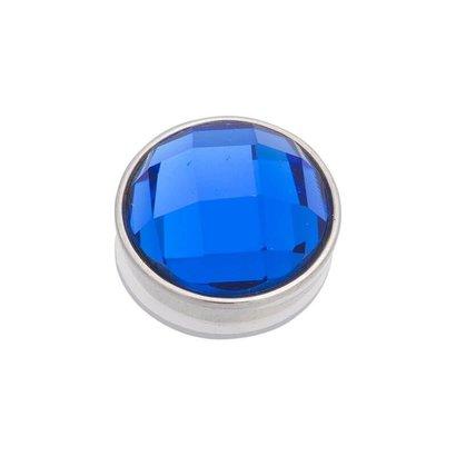 iXXXi JEWELRY iXXXi Jewelry Top part FACET CAPRI BLUE Stainless steel