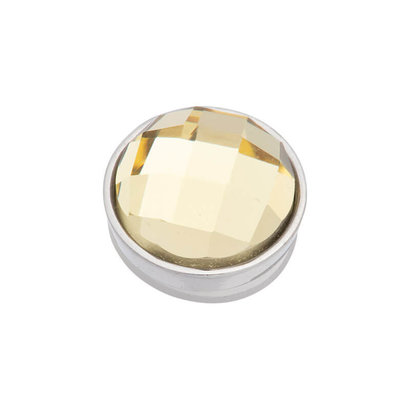 iXXXi JEWELRY iXXXi Jewelry Top part FACET YELLOW Stainless steel