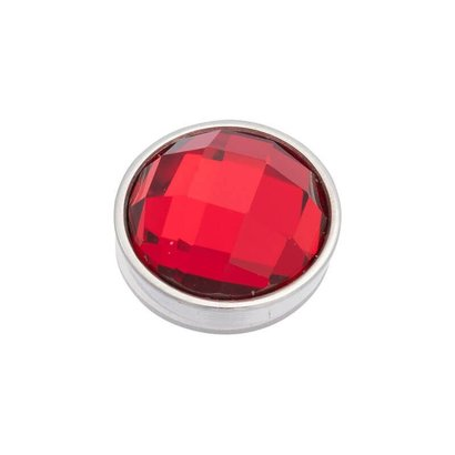 iXXXi JEWELRY iXXXi Jewelry  Top part FACET RED  Stainless steel