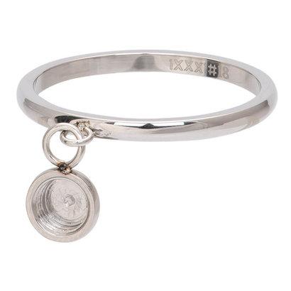 iXXXi JEWELRY iXXXi Jewelry Washer 2mm Oberteil tanzender Basisring Silber Edelstahl