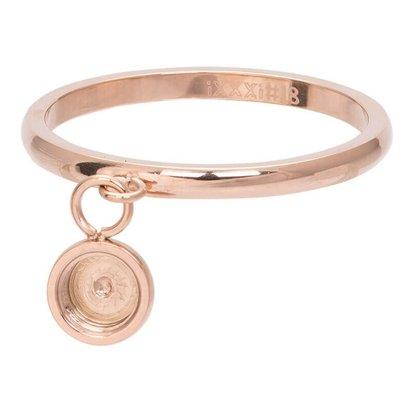 iXXXi JEWELRY iXXXi Jewelry Washer 2mm Oberteil tanzender Basisring Rose Edelstahl