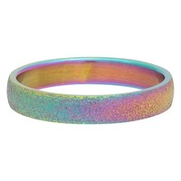 IXXXI JEWELRY RINGEN iXXXi Sandblasted Rainbow Washer
