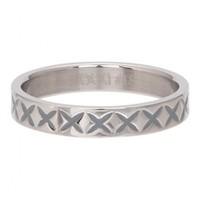 IXXXI JEWELRY RINGEN iXXXi Jewelry Vulring 0.4 cm X LINE  Silver