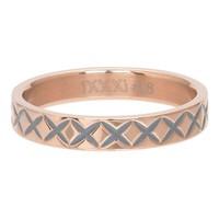 IXXXI JEWELRY RINGEN iXXXi Jewelry Vulring 0.4 cm X LINE  ROSE