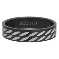 iXXXi JEWELRY MEN iXXXi HEREN VULRING SURFBOARD BLACK