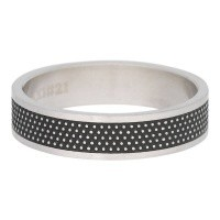 iXXXi JEWELRY MEN iXXXi MÄNNER WASHER ROW DOTS SILVER