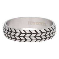 iXXXi JEWELRY MEN iXXXi HEREN VULRING TIRE  SILVER