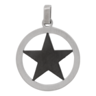 iXXXi JEWELRY MEN iXXXi MEN PENDANT STAR BLACK