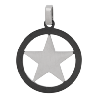 iXXXi JEWELRY MEN iXXXi MEN HANGER STAR SILVER